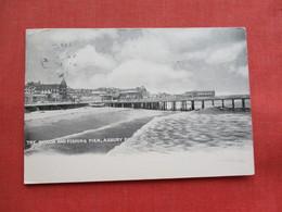 Beach & Fishing Pier  Asbury Park    NJ ----ref 3301 - United States