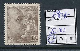 SPAIN YVERT 690A MNH - 1931-Aujourd'hui: II. République - ....Juan Carlos I