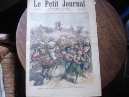 189mort General Espagnol Margallo Maroc Et Mireille Le Petit Journal Illustre - 1850 - 1899