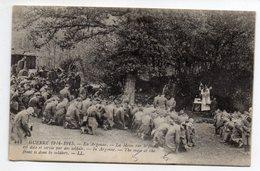 Militaria--Guerre 14-18--En Argonne--Messe Sur Le Front ( Très Animée,religion )  N° 444  éd LL - Guerre 1914-18