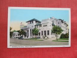 Metropolitan Hotel  Asbury Park    NJ ----ref 3301 - United States