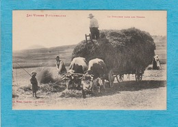 La Fenaison Dans Les Vosges. - Attelage Bœufs. - Les Vosges Pittoresques. - Autres Communes