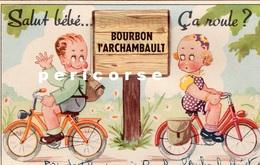 03  Bourbon  L'Archambault  Carte à Systeme - Bourbon L'Archambault