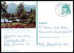 76358) BRD - P 124 E11/145 - OO Gestempelt 2800 - 8182 Bad Wiessee - Teilansicht - BRD