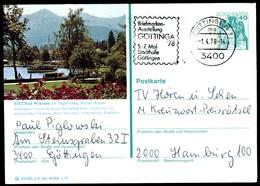 76359) BRD - P 124 E11/145 - OO Gestempelt 3400 - 8182 Bad Wiessee - Teilansicht - BRD