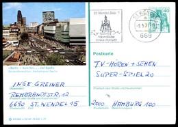 76361) BRD - P 124 E12/149 - OO Gestempelt 6690 - 1000 Berlin - Kurfürstendamm Mit Gedächtniskirche - BRD