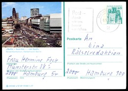 76362) BRD - P 124 E12/149 - OO Gestempelt 2000 - 1000 Berlin - Kurfürstendamm Mit Gedächtniskirche - BRD