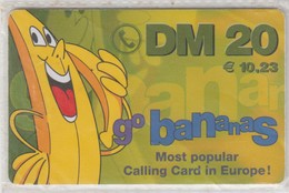 GERMANY 2000 GO BANANAS - Deutschland