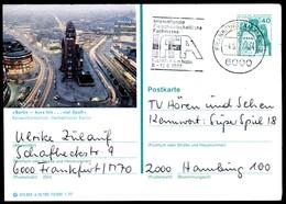 76363) BRD - P 124 E12/150 - OO Gestempelt 6000 - 1000 Berlin - Gedächtniskirche - BRD