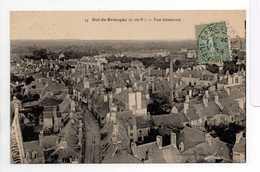 - CPA DOL-DE-BRETAGNE (35) - Vue Générale 1924 - Editions Garnier Et Cocornier N° 74 - - Dol De Bretagne