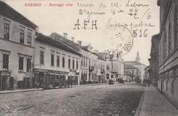 Hongrie  - SZEGED  - Somogyi  Utca  - Scan Recto-verso - Ungheria