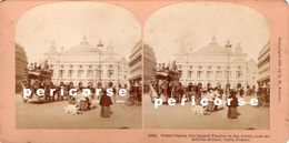 75 Paris  Grand Opera  ( Photo Stéréoscopique Albumine ) - Photos Stéréoscopiques