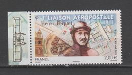 FRANCE / 2011 / Y&T N° PA 74a ** : Henri Péquet (du Feuillet De 10 TP) BdF G - Gomme D'origine Intacte - 1960-.... Neufs