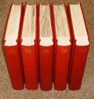 DDR KABE OF Bi-Collect Vordruckblätter 1949 - 1990 Komplett In 5 Roten KABE Klemmbindern  SEHR HOHER NP ÜBER 1730,- Euro - Alben & Binder