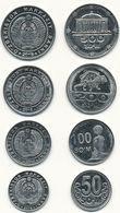 Uzbekistan - Set 4 Coins 50 100 200 500 Som 2018 UNC Lemberg-Zp - Uzbekistan