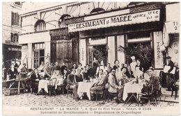"MARSEILLE - Restaurant ""La Marée""  - Tabacs - Bouillabaisse ..  (213 ASO) - Marseille"