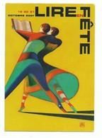 CPM Salon Lire En Fête Edition 2001 - Couple Danseur Illustateur Mattotti - - Books