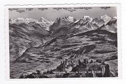 Valais Sion N°6609 Mayens De Sion Et Val D'Hérens Phot Perrochet Lausanne - VS Valais