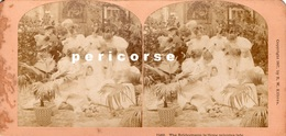 The Bridegroom Is Tree Minutes Late ( Photo Stéréoscopique Albumine De B.W. Kilburn) - Photos Stéréoscopiques