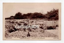 - CPA LONGUEVILLE (77) - Carrière De Grès Billarand (avec Personnages) - Edition Collet - Cliché Venot - - France