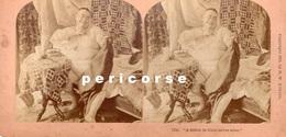 A Stitch In Time Saves Nine ( Photo Stéréoscopique Albumine De B.W. Kilburn) - Photos Stéréoscopiques