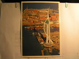 Portsmouth - The Spinnaker Tower - 210 Mm X 148 Mm - Portsmouth