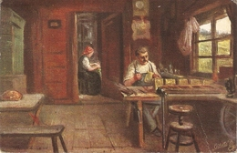 """John A.Heyermans. Cottage Homes In The Black Forest"" Tuck Oilette Wide-wide-World Ser.PC # 7759 - Tuck, Raphael"