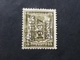 Belgique > Préoblitérés > Typos 1906-12 (Armoiries) - Precancels