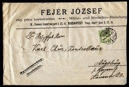 A6161) Ungarn Hungary Drucksachebrief Budapest 28.04.03 N. Augsburg - Briefe U. Dokumente