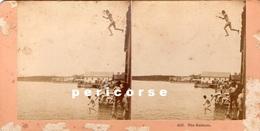 The Bathers  ( Photo Stéréoscopique Albumine De B.W. Kilburn) - Photos Stéréoscopiques