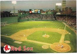 Boston's American League Baseball Park - Fenway Park - 'RED SOX' - (Massachusetts, USA) - Stadions