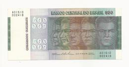 Brazil 500 Cruzeiros Almost UNC - Brasilien