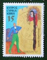15c Europa CEPT Fairy Tales 1997 Mi 897 Y&T 900 Used Gebruikt Oblitere CYPRUS ZYPERN CHYPRE - Zypern (Republik)