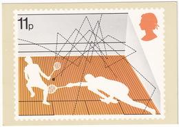 SQUASH - England 1977 - 11p - Postkaarten
