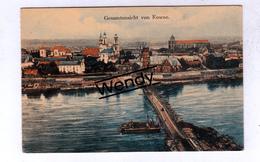 Kaunas (gesmatansicht Von Kowno) - Lituanie
