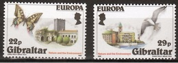 Gibraltar  Europa Cept 1986 Postfris M.n.h. - Gibraltar