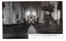Vilvoorde (intérieur De L'église) Uitg. Bertels N° 21 - Blauw - Vilvoorde