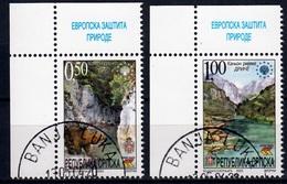 Servische Republiek Mi 283,284 Natuur Gestempeld Fine Used - Servië