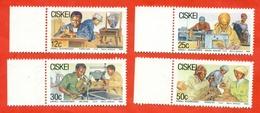 Cickei 1985. Small Bisenneses. Stamps Unused. - Jobs