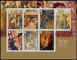 Gibraltar  2018 Micheln° Bloc 137 *** MNH Christmas Kerstmis Noël - Gibraltar