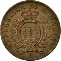 Monnaie, San Marino, 10 Centesimi, 1937, Rome, SUP+, Bronze, KM:13 - San Marino