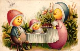 Ostern, Eierfiguren, 1907 - Pâques