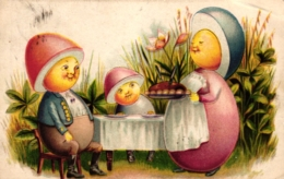 Ostern, Eierfiguren, 1907 - Ostern