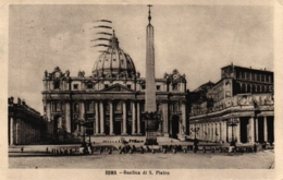 Rom, Roma, Basilica Di S. Pietro, 1923 Nach St. Gallen Versandt - Roma (Rom)