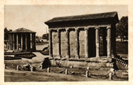 Rom, Roma, Templi Bella Fortuna Virile D Di Vesta, Ca. 30er Jahre - Roma (Rom)