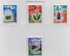 PIA  -  FAROER  -  1991  : Flora E Fauna Delle Faroer -  (Yv 205-08) - Isole Faroer
