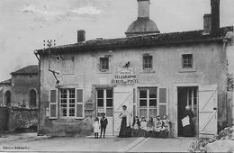 43 LE PUY EN VELAY LE BUREAU DE POSTE En 1914 POSTIERE ET CLIENTS  EDITIONS DUBLANCHY - Le Puy En Velay