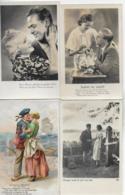 AK 0225  Liebespaare - Konvolut Von 7 Karten - Paare