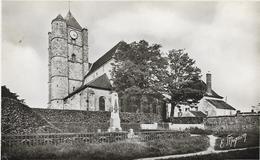 77 . Seine Et Marne .  Ozouer Le Voulgis : L' église . - Frankrijk