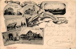 Austria, Niederösterreich, Korneuburg, Scenes, Old Postcard 1899 - Korneuburg